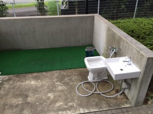 羽田空港駐車場補助犬トイレ